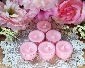 4 Romance Soy Tea Lights 4 pack