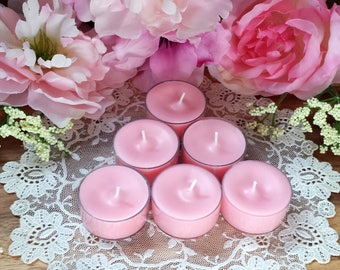 Romance Soy Tea Lights 3 or 6 pack