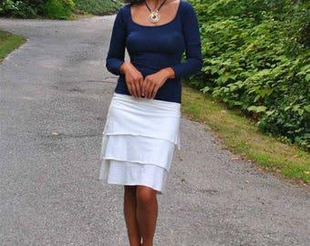 Tiered Ruffle Skirts