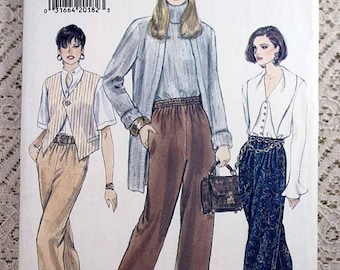 ON SALE Vogue 9101, Misses' Pants Sewing Pattern, Easy Misses' Pants Pattern, Easy Vogue Pattern, Misses' Size 8, 10, 12, Uncut