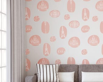 Vinyl Wall Sticker Decals - Paris