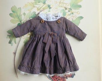 Cotton dress for blythe