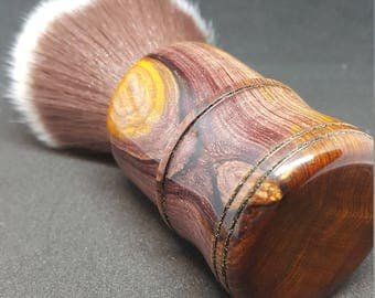 Beuatiful Cocobolo Shave Brush, 24mm Mother Lode Knot No. 1