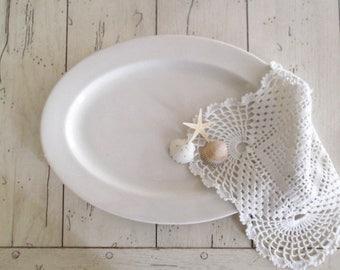 Vintage Ironstone Platter Restaurant Ware Plate
