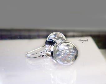 Sterling Silver Earrings - Soap Bubbles