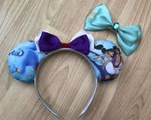 Aladdin and Jasmine inspired Mickey/Minnie Disney ears