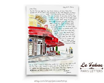 Le Tabac: Paris Letters, May letter about the local tabac and the French elections