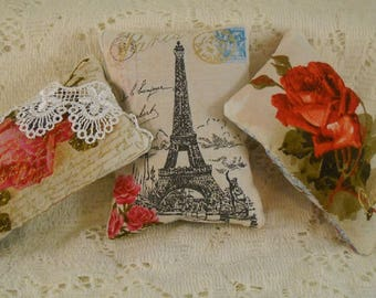 Lavender Sachets Paris In Bloom Eiffel French Market FREE SHIPPING