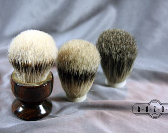 Shaving Brush Cocobolo Wood Choose your Badger Hair Brush Father's Day Gift Birthday Wet Shaving Ready2Ship