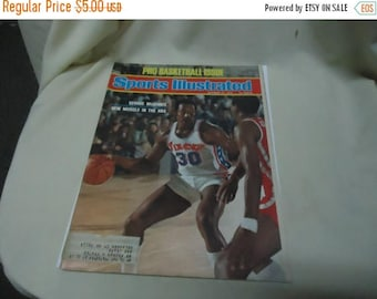 Back Open Sale Vintage October 27, 1975 Sports Illustrated Magazine, George McGinnis New Muscle In The NBA,  collectable