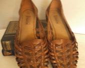 Vintage tissé Huaraches ~ taille de femme 8