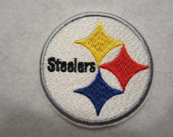 Pittsburgh Steelers Iron On Patch, Steelers Patch, Pittsburgh Steelers Applique Patch, Football, Steelers, STeelers Iron On Patch
