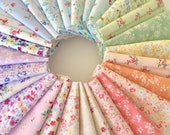 PREORDER Complete fat quarter bundle of the Flower Fields fabric collection by Lecien  - 28 pieces