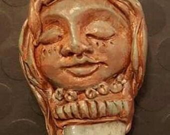 People of The Earth - Goddess Sculpture - Green Adventurine  Crystal - The Sacred Divine Feminine