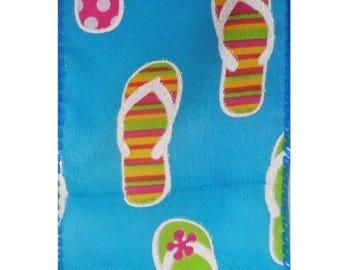 ON SALE 2.5 Inch Flip Flop Ribbon TR30940-39