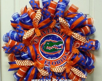 ON SALE Florida Gators, College Football, Sports Fans, FL Gators, Sports Decor (2239)