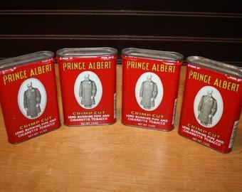Prince Albert Tobacco Tins - set of 4 - item# 2848-3