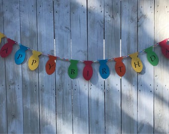 Fishing Birthday Banner - Birthday Decoration