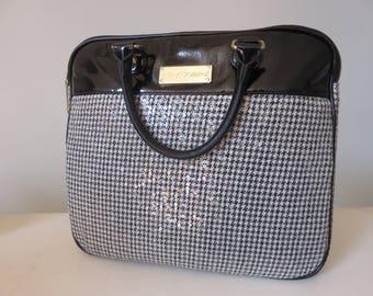 Betsey Johnson Sequined Laptop Handbag