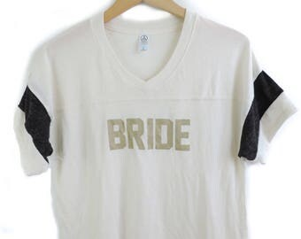 New Bride Alternative Apparel V-neck Shirt // You pick Color // Sizes S-XL