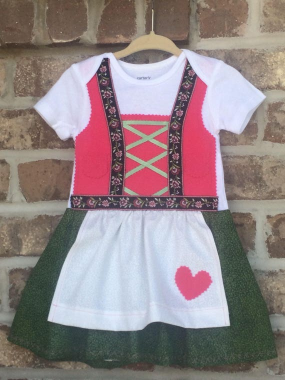 READY TO SHIP 12 month dirndl