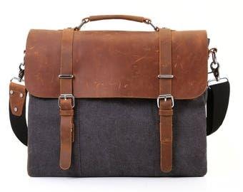 New Genuine LEATHER Messenger Bag BOHEMIAN Hand MADE