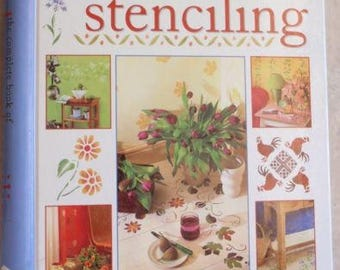 Stencil Book The Complete Book of Home Stenciling With Stencils ISBN 1853919381