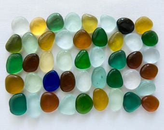 English Sea glass - Colours - Lot DC1118