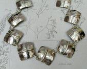 Squares Bracelet Sterling...