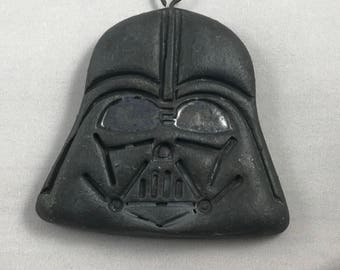 Darth Vader Stoneware Pottery Ornament