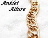 Anklet Gold Anklet Ankle Bracelet Chain Anklet Fancy Chain Ankle Bracelet Tribal Anklet