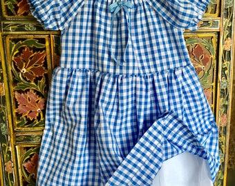 Summer dress 18 - 24 months gingham/check