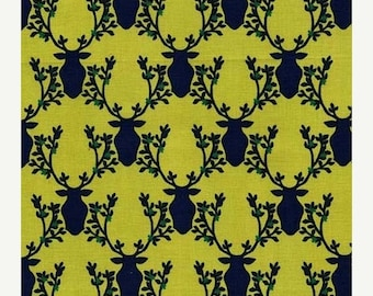 SALE 10% Off - Trophy in Leaf  DC6411 - RUSTIQUE by Emily Herrick  - Michael Miller Fabrics - By the Yard