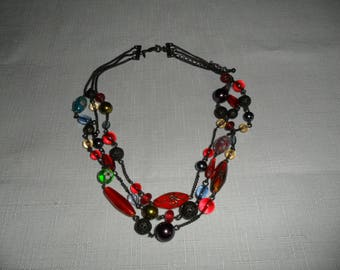 Vintage Avon Multi Bead Necklace