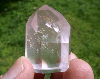 Lithium Quartz with Rainbows - crystal healing, standing crystal, altar decor, meditation