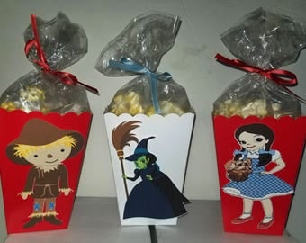 Wizard of Oz Snack Boxes - Set of 10