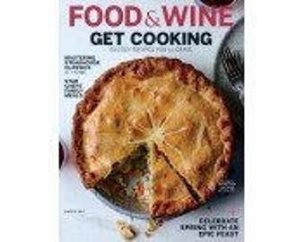 Food & Wine 1 Year Subscription (12 issues)