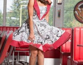 comic dress By TiCCi Rockabilly Clothing