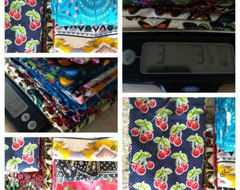 Summer Sewing Fabric supplies for quilting, Fabric DYI craft fabric ,Bulk fabric lot