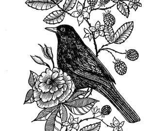 Custom tattoo design, Hand drawn Commission, tattoo design, commissioned artwork, made to order custom art