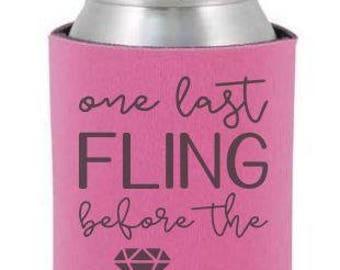 Last Fling Before The Ring SVG, Digital Download, Getting Married, Last Fling Decal, Bachelorette DIY, Cricut Design