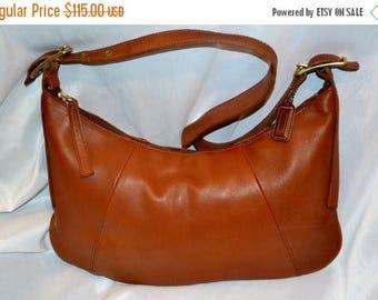 Sizzling Summer Sale COACH~Coach Bag~Vintage Coach~British Tan* Eurgo Bag *Excellent Condition USA Made