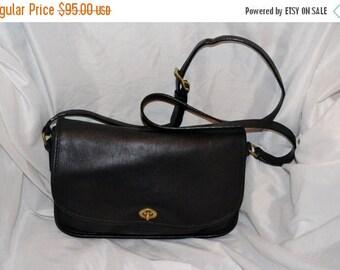 Sizzling Summer Sale COACH~Coach Bag~ RARE 1980s~Vintage Coach City Bag~Black Coach