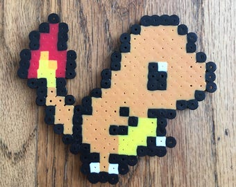 Charmander Pokemon Perler Bead Art