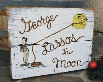 George Lassos the Moon It's A Wonderful Life Print