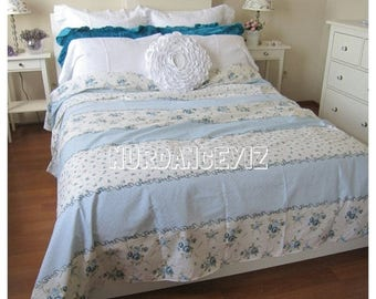 discount 35 blue floral bedding floral duvet cover doona cover college dorm twin xl