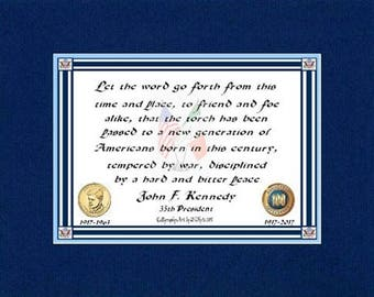 Let the  Word Go Forward   John F. Kennedy