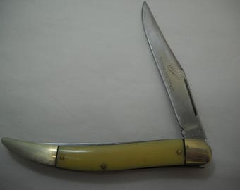 Vintage Ulster 2 Blade Fishing Knife Stainless Steel Blade USA FREE SHIPPING