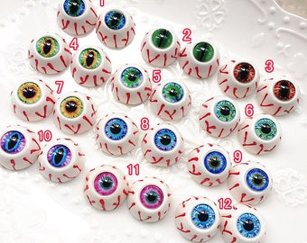 10pcs 5pairs high quality glass eyes / eyeball cameo / doll eyes / animals eyes / doll making X-W