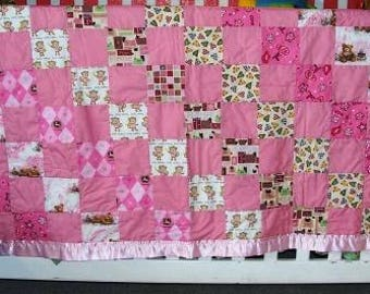 Lit' Cowgirl Baby Quilt